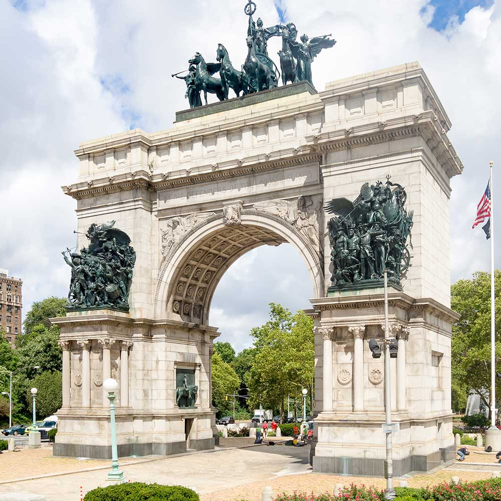Triumphal Arch at the Grand Army Plaza