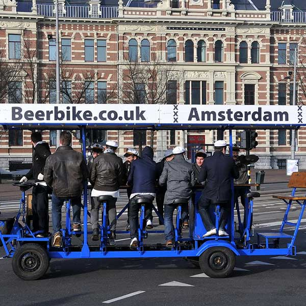 Beer Bikes with DamTours