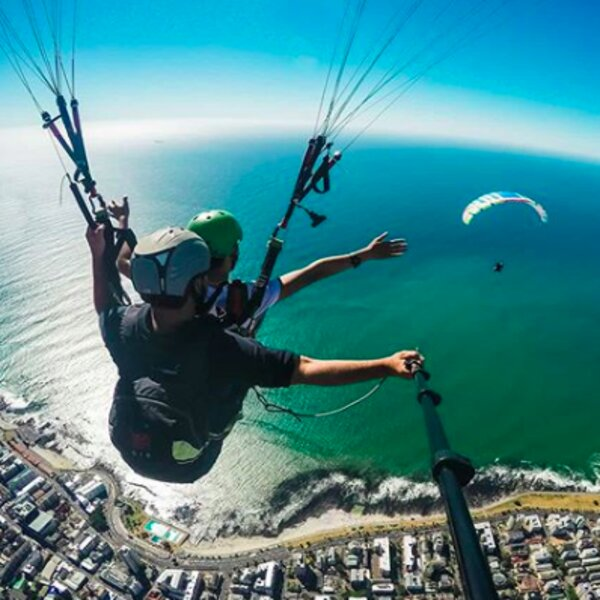 Cape Town paragliders
