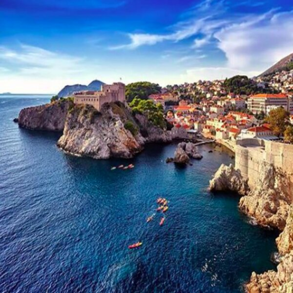 Dubrovnik GOT kayaking