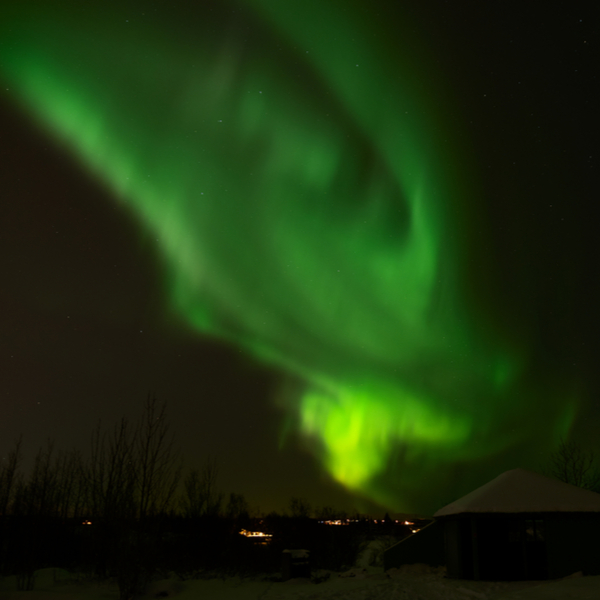 reykavik northern lights where to see