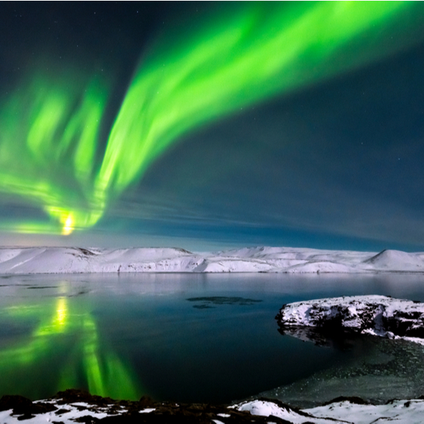 where to see northern lights reykjavik