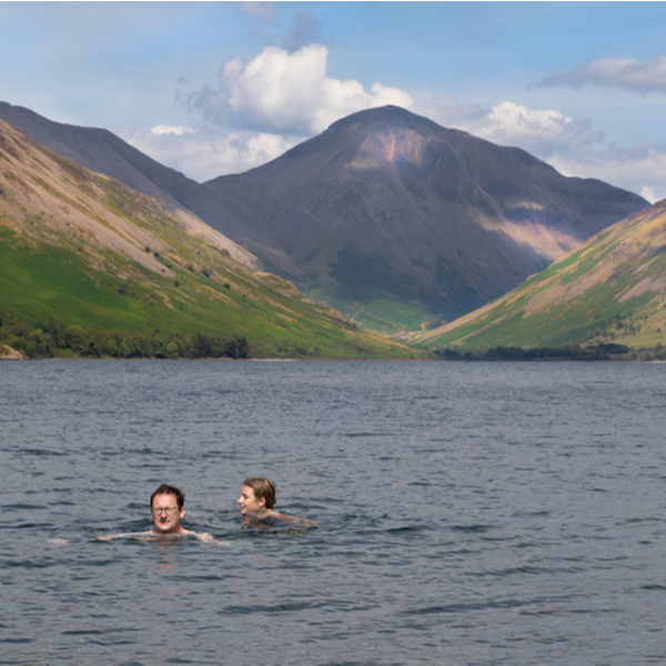 when to go swimming lake district
