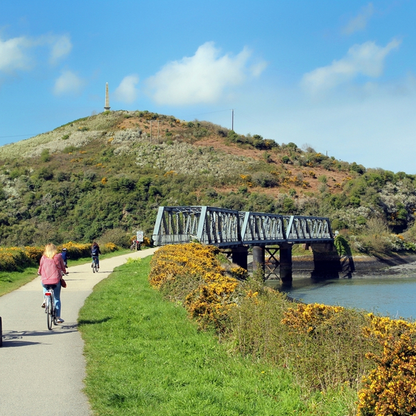 cornwall cycling route
