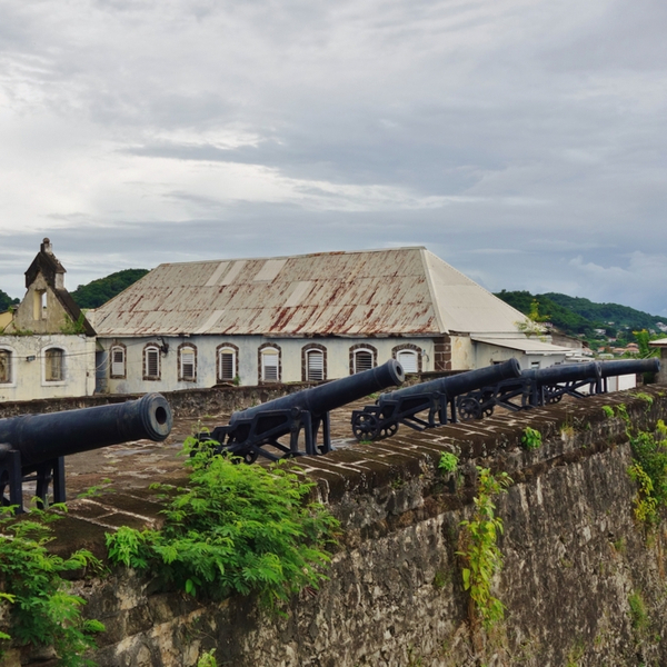 view of fort george in grenada