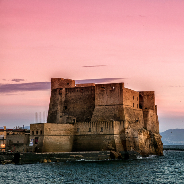 view of ovo castle at sunset