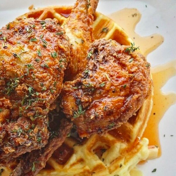 fried chicken and waffles in toronto