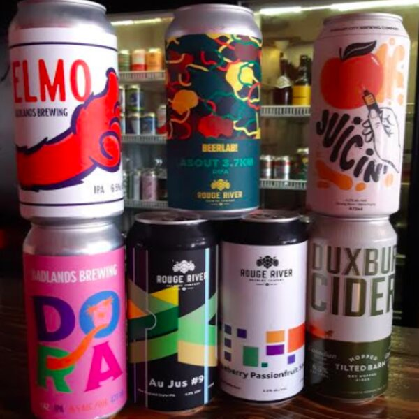 colourful beer brands in toronto bar