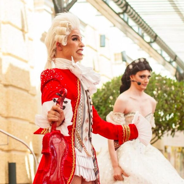 classical musical themed drag show in vienna