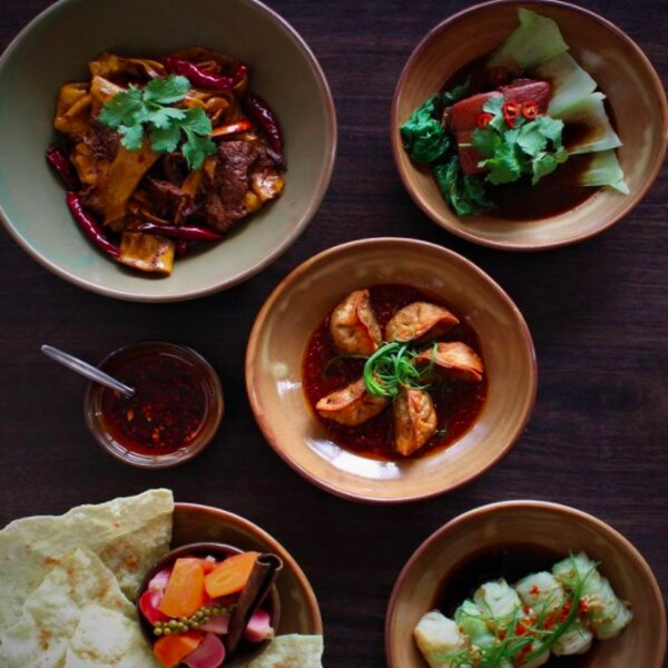 chinese dishes at auckland restaurant