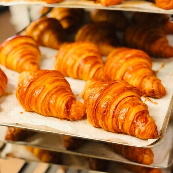 breakfast at french bakery in oslo