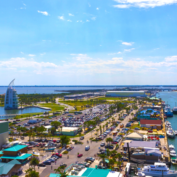 view of Cape Canaveral port