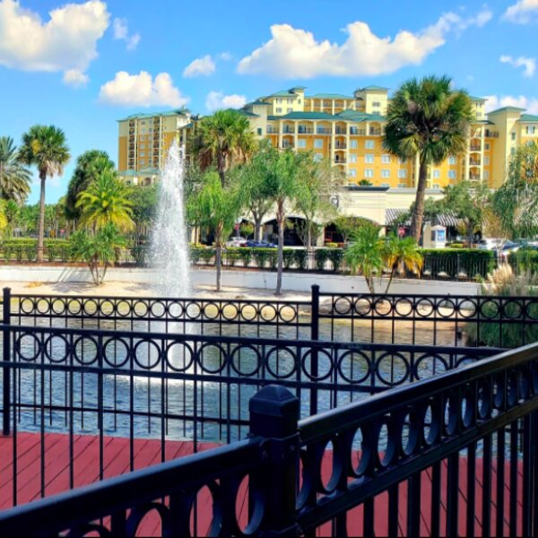 view of lake buena vista factory outlets in orlando
